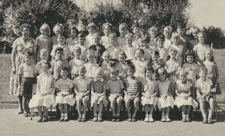 Miss Trice's class, July 1959