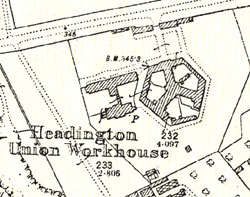 Map of workhouse