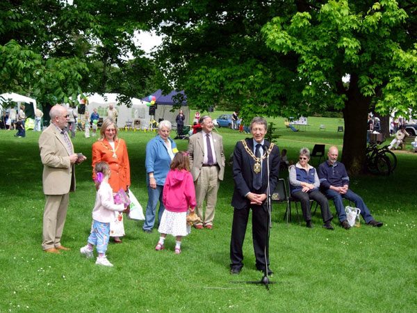 Lord Mayor opening festival