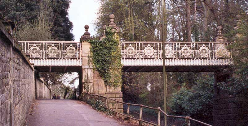 Headington Hill Hall bridge