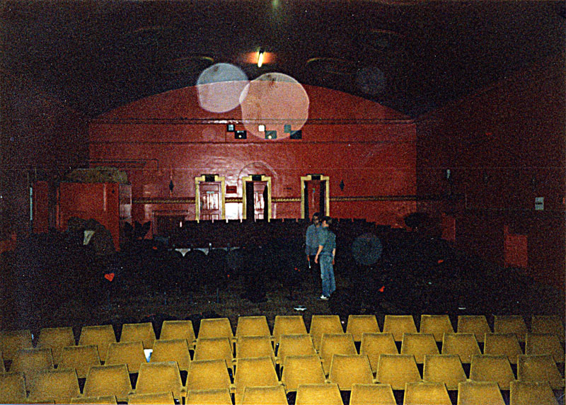 Cinema inside