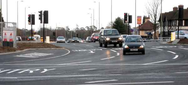 Headington roundabout