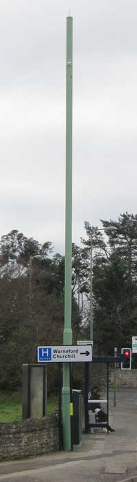 Rock Edge phone mast