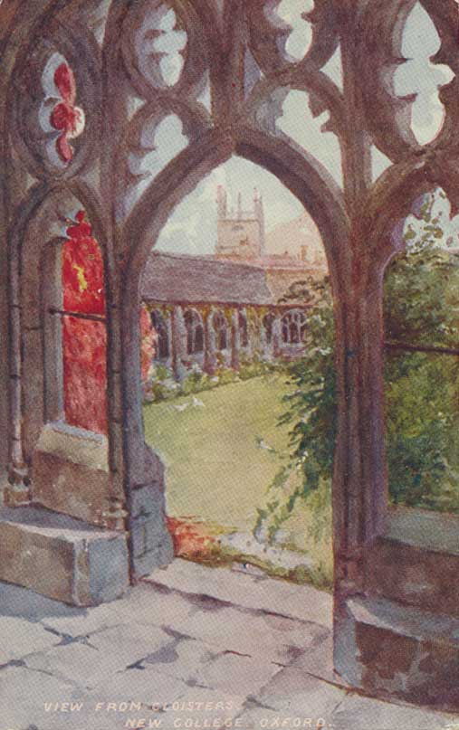 New College from cloisters
