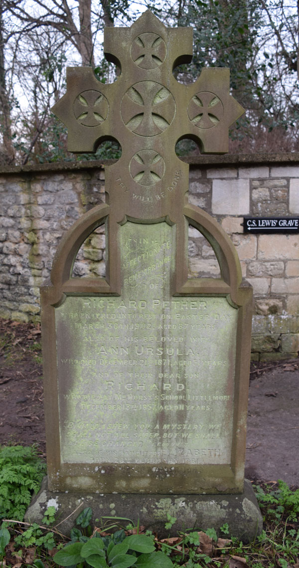 Pether grave