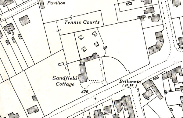 Sandifield Cottage in 1939
