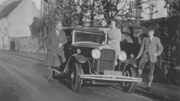 Liddells with their car