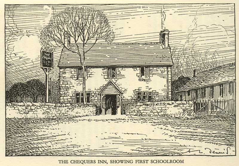 Old picture of the Chequers