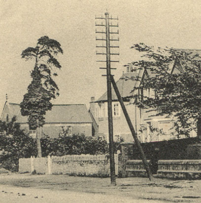 Corner of Windmill Road 1908