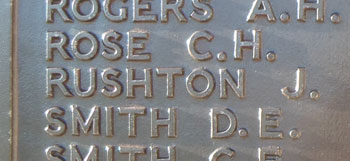 Memorial to Rushton