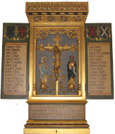 St Andrew's memorial board